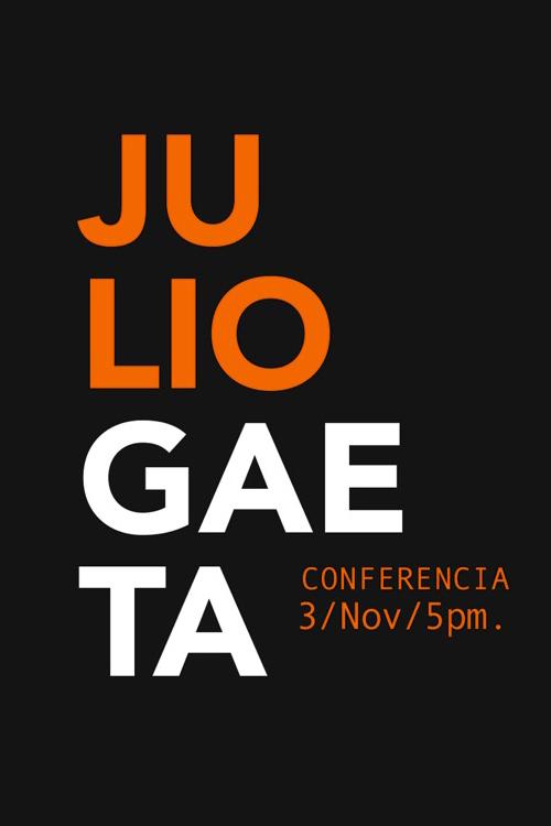 Conferencia Julio Gaeta